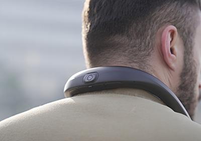 首にかける自転車&バイク向け360度ドラレコ - AV Watch