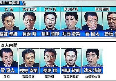 【悲報】立憲民主党と菅内閣、 顔ぶれが完全に一致 | netgeek
