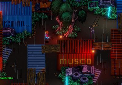 サイバーパンクJRPG『Jack Move』開発中。キュートなドット絵で父を助ける冒険を描く | AUTOMATON