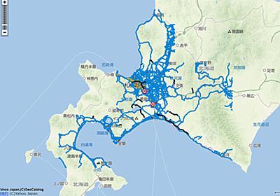ヤフー、「Yahoo! 地図」で北海道地震の影響による道路交通情報掲載 - トラベル Watch