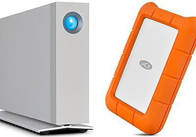 LaCieはポータブルとd2デスクトップドライブのUSB-Cバージョンを発表 - IT海外