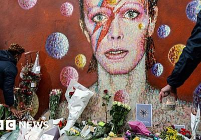 David Bowie: Friends and stars pay tribute - BBC News
