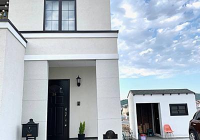 <庭プロジェクト>小屋工房製作26ついに2×4で一から作る小屋の外観完成 - My Midcentury Scandinavian home 〜北欧ミッドセンチュリーの家〜