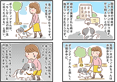 【犬マンガ】捨てられても人間を信じている犬のお話 - こぐま犬と散歩〜元保護犬の漫画日記〜
