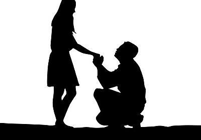 「これはプロポーズに彼女がYesと返事した0.5秒後…」言葉より伝わってくる写真:らばQ