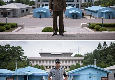Parallel lives: opposites and echoes either side of Korea's DMZ