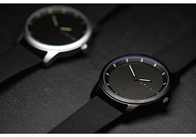 機能は足りない位でちょうど良い--アナログ腕時計スマートウォッチ「Stark」 - CNET Japan