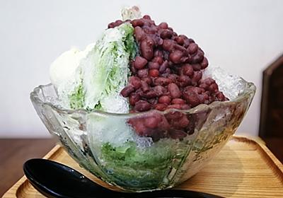 今年の初氷 麻布十番浪花家の宇治金時みるくを白楽で @たいやきかふぇ浪花家 - ツレヅレ食ナルモノ