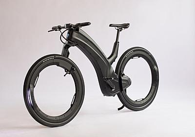 タイヤがただの輪っか! ハブもスポークもない未来のeバイク「beno」 | ギズモード・ジャパン
