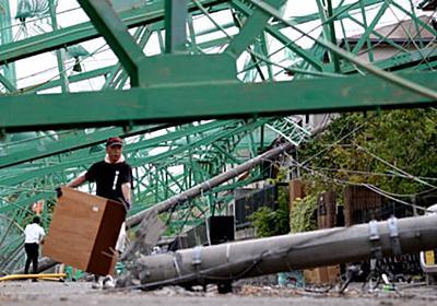 遠い生活再建「どうすれば」 台風15号1週間、大雨の恐れ 募る不安 :日本経済新聞