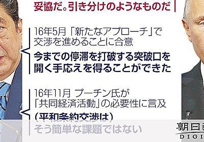 ロシアに抗議せず 首相「意欲の表れ」 与野党から批判:朝日新聞デジタル