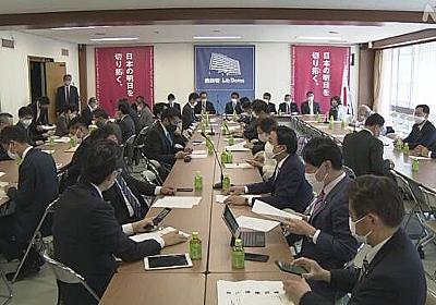 「24時間体制で」ワクチン 秋までに希望者全員接種へ提言 自民   新型コロナ ワクチン(日本国内)   NHKニュース