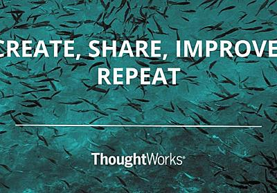 Open source: create projects, share ideas, contribute to the community | ThoughtWorks