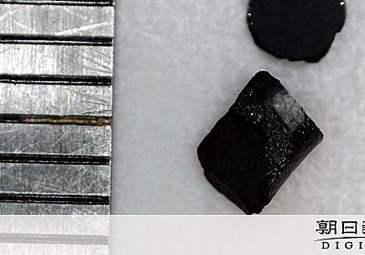 磁力や圧力でひんやり新物質 京大など研究チームが発見:朝日新聞デジタル