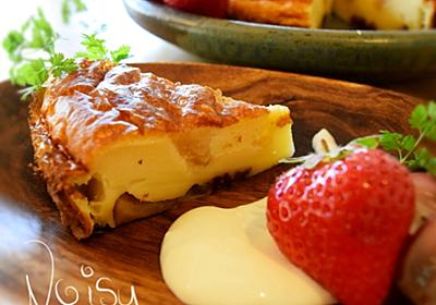 混ぜて焼くだけ☆もちもち♡リンゴ&レーズンのファーブルトン♪   世界3年・遍路旅3周したNoisy のおうちレストラン♪