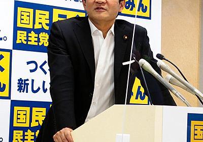 国民・玉木代表「党を分党」 自身は立憲との合流不参加:朝日新聞デジタル