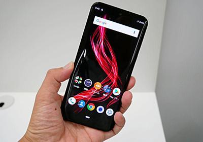 ホームボタンなし+Android 9.0の「AQUOS zero」は、操作法も大きく変わる - ITmedia Mobile