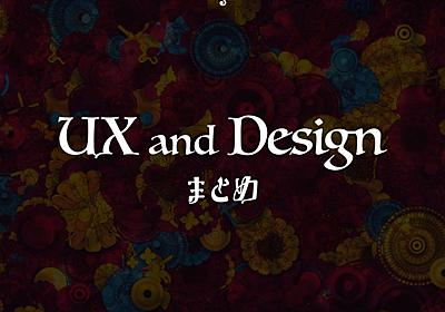 UXとデザインまとめ by 上野学 - presentation from UX まとめ 2015