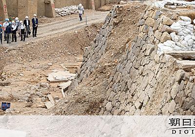 県庁の跡地から奉行所見つかる 崩れそうなので埋め戻す:朝日新聞デジタル