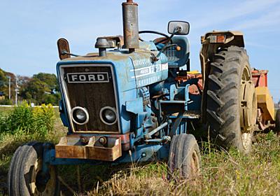 カッコいい!かわいい!野暮ったい!農業用トラクターを愛でる :: デイリーポータルZ
