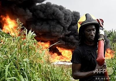 聖水と間違えガソリン注がれた男性焼死、パイプラインに引火も ナイジェリア 写真11枚 国際ニュース:AFPBB News