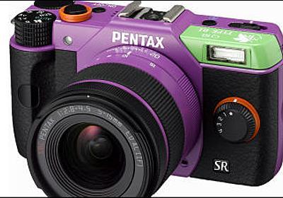 ヱヴァとデジタル一眼カメラ「PENTAX Q10」がコラボした特別モデル登場 - GIGAZINE