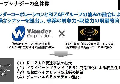 RIZAP、「新星堂」運営元のワンダーコーポレーションを子会社化 - ITmedia ビジネスオンライン