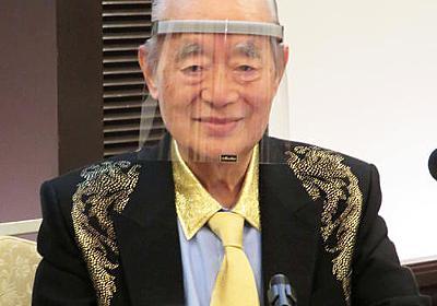 ドクター・中松氏コロナ対策マスク「スーパーメン」 - 社会 : 日刊スポーツ