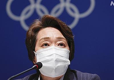 橋本会長「東京大会への支持率がまた少し落ちてしまっている」   オリンピック・パラリンピック   NHKニュース