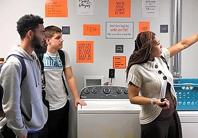 生徒の欠席に悩む学校、洗濯機置いたら劇的に改善した:朝日新聞GLOBE+