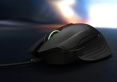 Razer、ホイールの抵抗を調節できるゲーミングマウス「Basilisk」 ~無線のモバイルマウス「Atheris」も - PC Watch