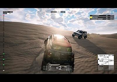 Dakar 18 Gameplay - Etapa 1 Completa Lima - Pisco