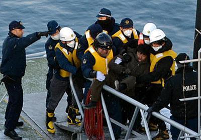 「逮捕、逮捕!」叫ぶ声 北朝鮮籍の乗組員、激しく抵抗:朝日新聞デジタル