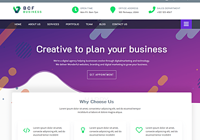 Business Consultant Finder – WordPress Theme Review