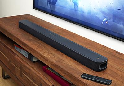 【小寺信良の週刊 Electric Zooma!】サウンドバーにAndroid TVを入れるとこうなる! JBL「LINK BAR」-AV Watch