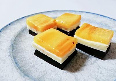材料費50円!?柿とチーズとチョコレート なんちゃってミルフィーユおやつ - ツレヅレ食ナルモノ