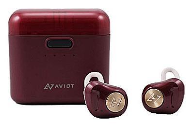Amazon.co.jp: AVIOT アビオット 日本のオーディオメーカー TE-D01d Bluetooth イヤホン 高音質 グラフェンドライバー搭載 完全ワイヤレス QCC3026チップ iPhone android 対応 (ダークルージュ): Speakers
