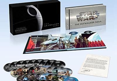 『スター・ウォーズ』8作品が初の4K UHD BD化。9部作27枚入りボックスも - Engadget 日本版