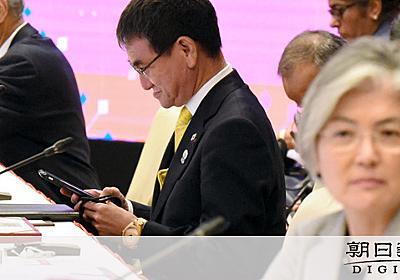 「韓国に屈すれば支持下落」強気貫く日本 米仲裁も不発:朝日新聞デジタル