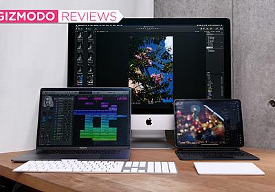 リモートワークになる→カラダがiMacを求める。Macの買いかたを考え直してみた | ギズモード・ジャパン