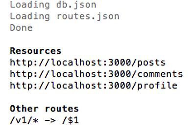 コードを書かずにJSONを出力するAPIモックを構築できるJSON Serverを試してみた - 酢ろぐ!