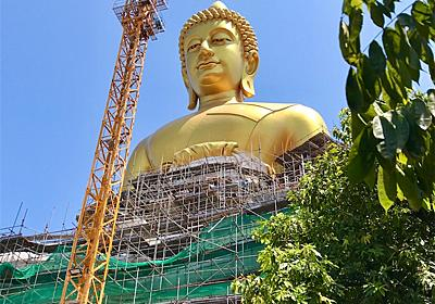 バンコクの新名所、あのワット・パクナムの大仏が完成していた【写真で振り返り】 - siam manao-life