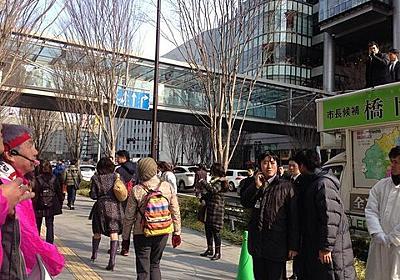 お笑いの街に相応しい面子が揃った大阪市長選挙はじまる : 市況かぶ全力2階建