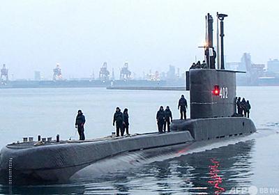 インドネシア潜水艦を海底で発見、乗組員53人全員死亡 軍発表 写真1枚 国際ニュース:AFPBB News