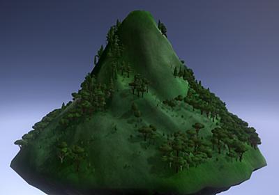 ただ「山になる」だけのゲーム『Mountain』大型アップデート実施。プレイヤーとなる山がさらに美しく変化 | AUTOMATON