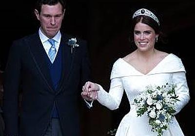 英ユージェニー王女結婚式ドレスの理由をインスタで説明 | news from nowhere