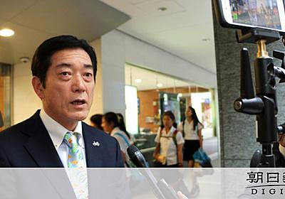 加計学園の面会、架空なら矛盾 愛媛知事「説明不足」:朝日新聞デジタル