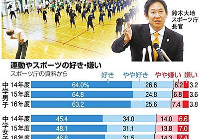スポーツ嫌いダメ?国の目標波紋 「体育の恨み」影響も:朝日新聞デジタル