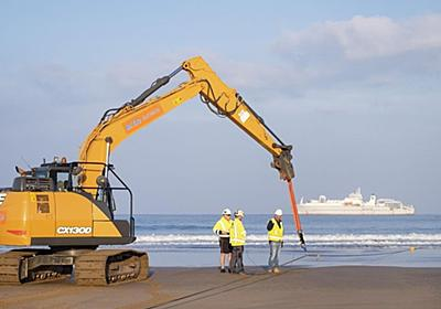 グーグルの新海底ケーブル「Grace Hopper」が英国に到達 - CNET Japan