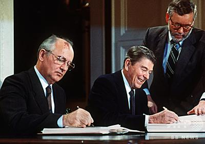 ゴルバチョフ氏、トランプ氏の「分別の欠如」非難 核条約離脱表明で 写真6枚 国際ニュース:AFPBB News